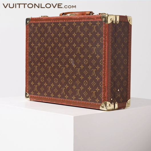 Louis Vuitton resvaska Cotteville 45 Monogram Canvas Vuitton Love 3