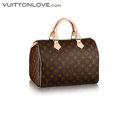 Louis Vuitton Speedy 30 Monogram Canvas Vuitton Love