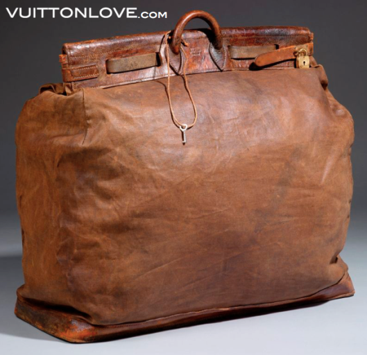 Louis Vuitton Steamer Bag Antique Vuitton Love