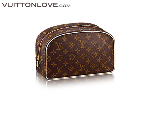 Louis Vuitton Toiletry Bag necessar Monogram Canvas Vuitton Love