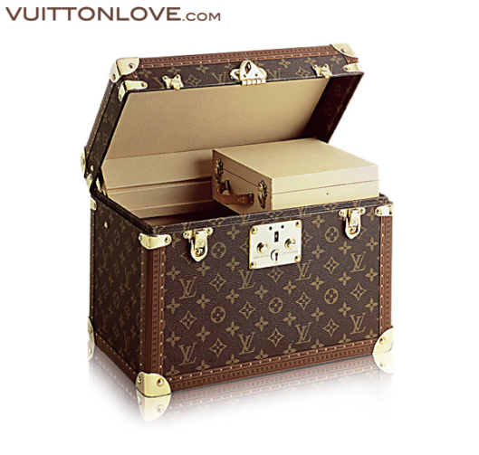 Louis Vuitton Toiletry Case necessar Monogram Canvas Vuitton Love