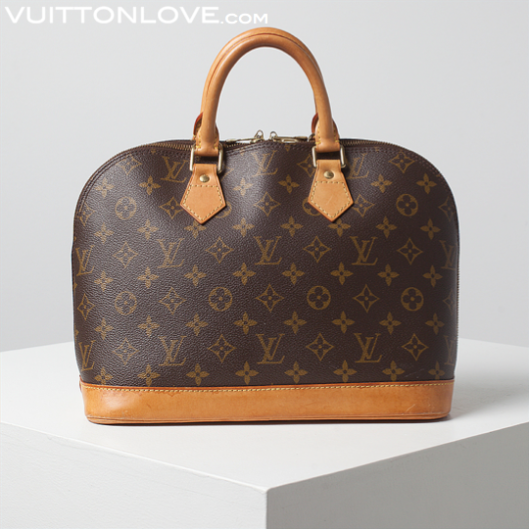 Louis Vuitton vaska Alma Monogram Canvas Vuitton Love 1