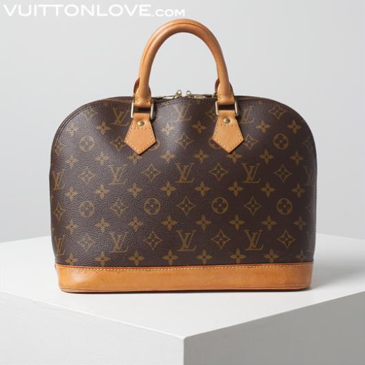 Louis Vuitton vaska Alma Monogram Canvas Vuitton Love 1