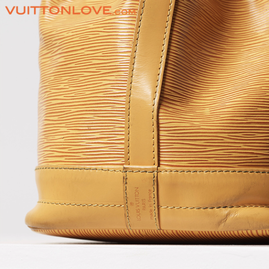 Louis Vuitton vaska Noe Epi lader Vuitton Love 3