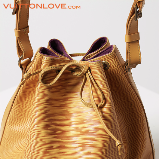 Louis Vuitton vaska Noe Epi lader Vuitton Love 4