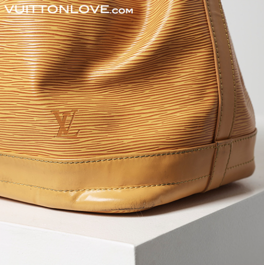 Louis Vuitton vaska Noe Epi lader Vuitton Love 5
