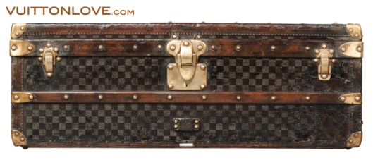 Louis Vuitton vintage Damier Trunk Vuitton Love 1