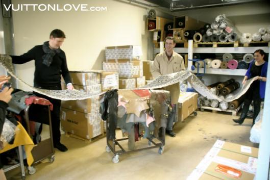 Louis Vuitton fabriken atelier tillverkning vaskor Asnieres-sur-Seine Vuitton Love 12