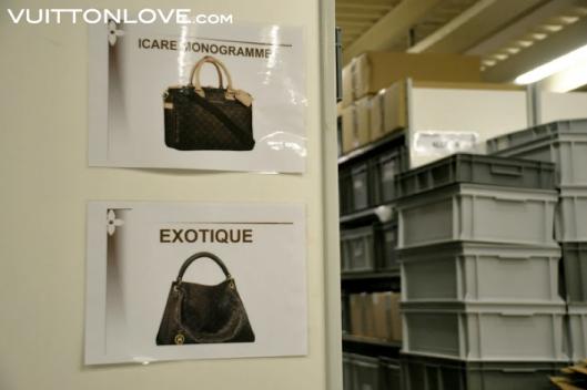 Louis Vuitton fabriken atelier tillverkning vaskor Asnieres-sur-Seine Vuitton Love 8