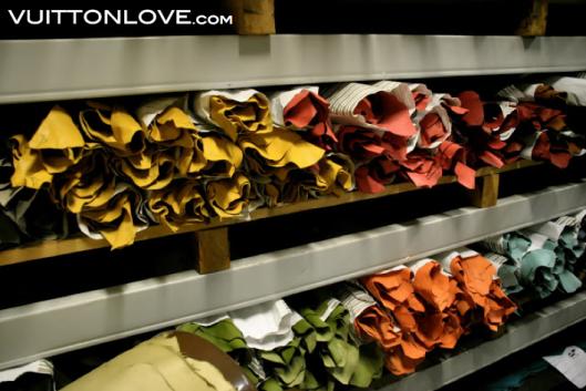 Louis Vuitton fabriken atelier tillverkning vaskor Asnieres-sur-Seine Vuitton Love 9