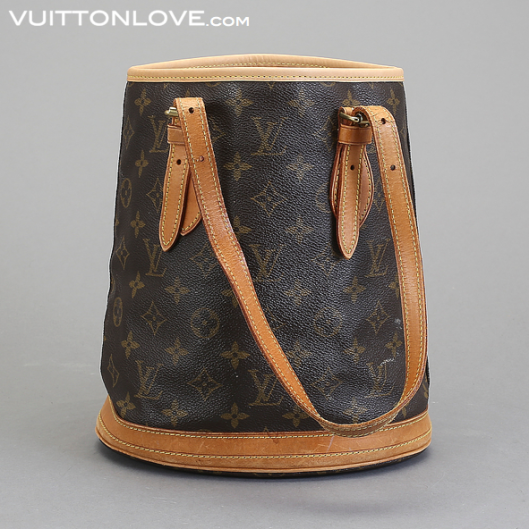 Louis Vuitton vaska Bucket PM Monogram Canvas Vuitton Love 1