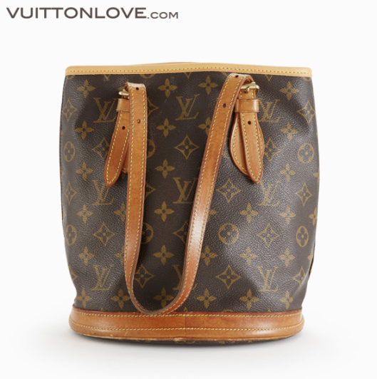 Louis Vuitton vaska Bucket PM Monogram Canvas Vuitton Love 2