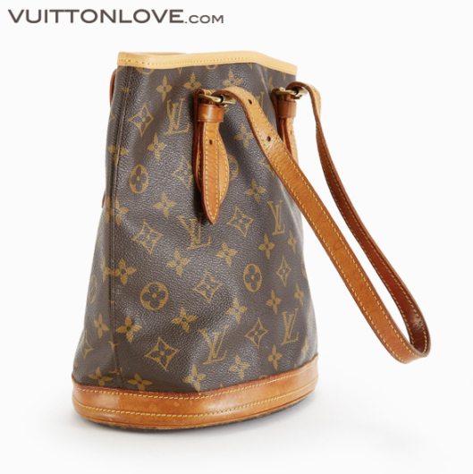 Louis Vuitton vaska Bucket PM Monogram Canvas Vuitton Love 3