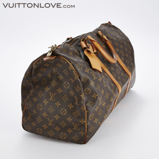 Louis Vuitton vaska Keepall 50 Monogram Canvas Vuitton Love 2