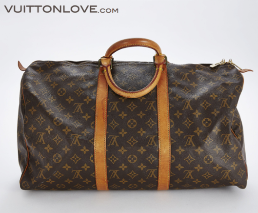 Louis Vuitton vaska Keepall 50 Monogram Canvas Vuitton Love 3