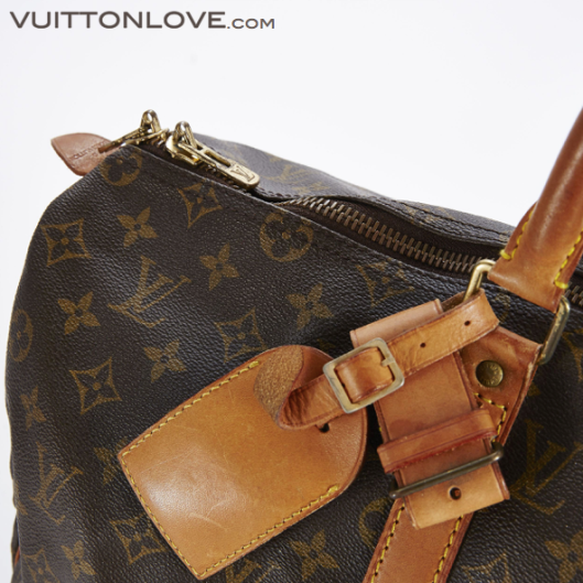 Louis Vuitton vaska Keepall 50 Monogram Canvas Vuitton Love 4