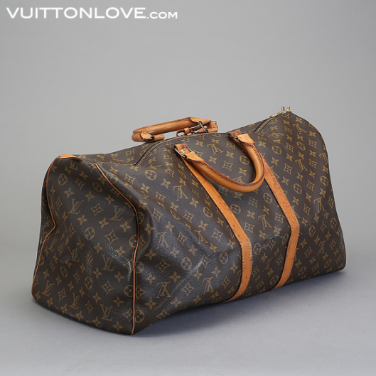 Louis Vuitton vaska Keepall 55 Monogram Canvas Vuitton Love 3