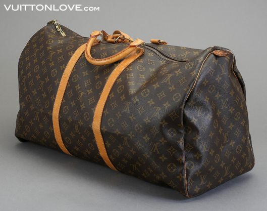 Louis Vuitton vaska Keepall 60 Monogram Canvas Vuitton Love 3
