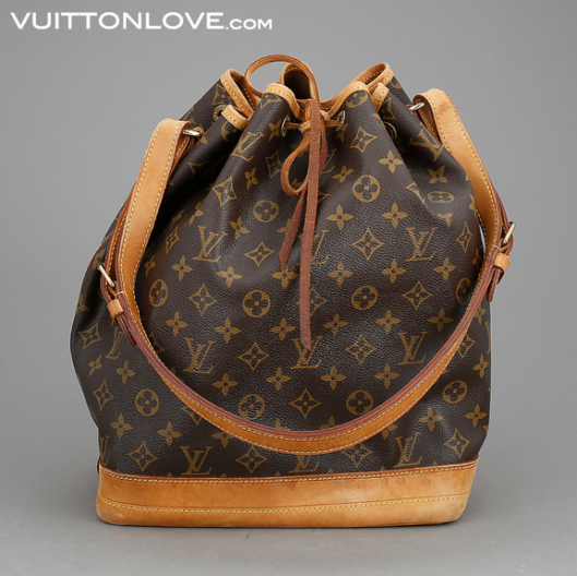 Louis Vuitton vaska Noe Monogram Canvas Vuitton Love 1