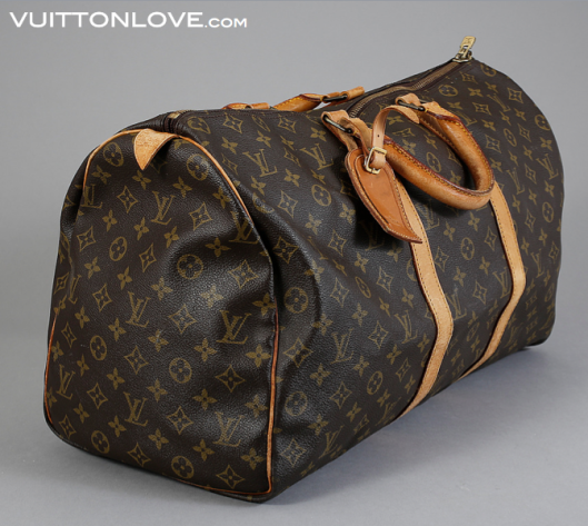 Vintage Louis Vuitton Keepall 50 Monogram Canvas Vuitton Love