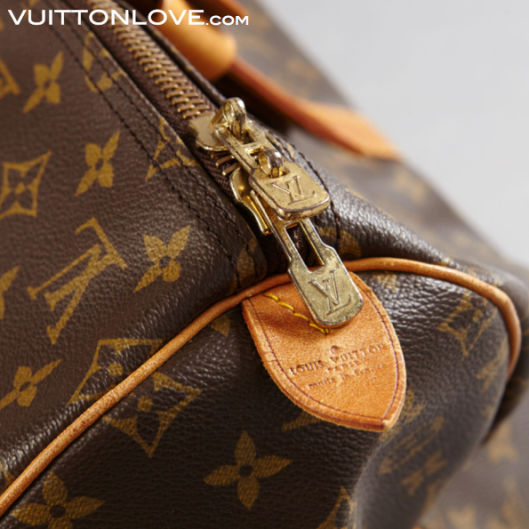 Vintage Louis Vuitton Keepall väska Monogram Canvas Vuitton Love