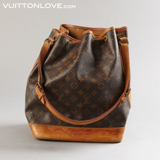 Vintage Louis Vuitton Noé i Monogram Canvas Vuitton Love