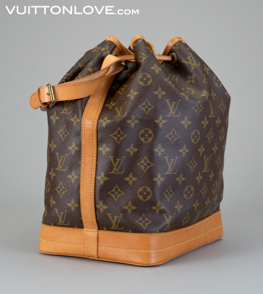 Louis Vuitton axelväska Noe Monogram Canvas Vuitton Love