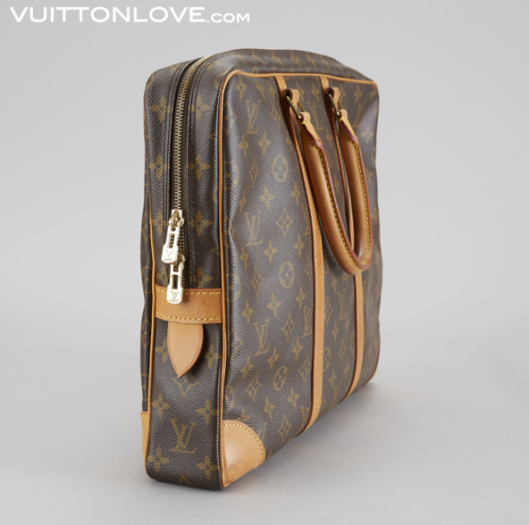 Louis Vuitton portfolj Porte-Documents i Monogram Canvas Vuitton Love