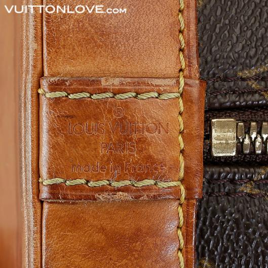 Louis Vuitton handväska Alma Monogram Canvas Vintage Vuitton Love
