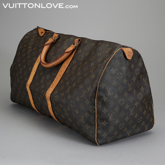 Vintage Louis Vuitton Weekendbag Keepall 55 Monogram Canvas Vuitton Love