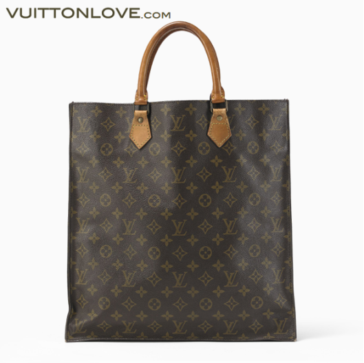 Vintage Louis Vuitton väska Sac Plat Vuitton Love