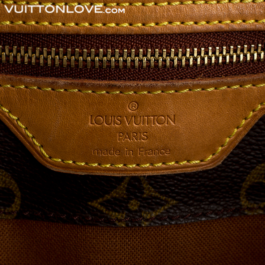 Vintage Louis Vuitton väska Neverfull Cabas Alto Monogram Canvas Vuitton Love