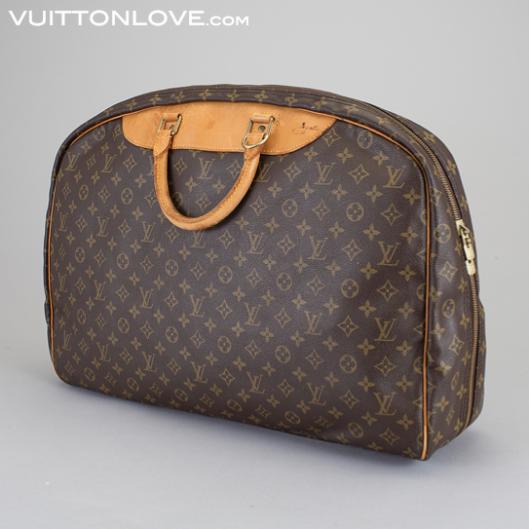 Vintage Louis Vuitton resväska resegarderob AlizéMonogram Canvas Vuitton Love