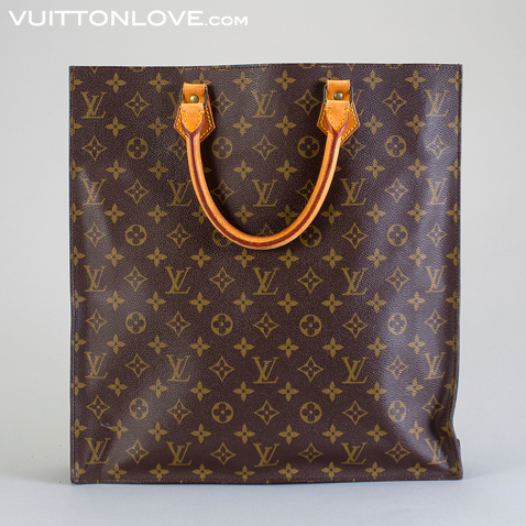 Vintage LV Louis Vuitton vaska Sac Plat Monogram Canvas Vuitton Love 1