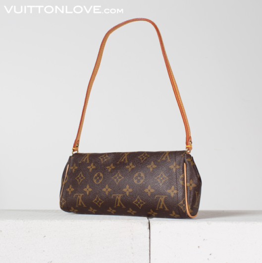 Louis Vuitton Pochette Beverly Handvaska Axelremsvaska Monogram Canvas Vuitton Love