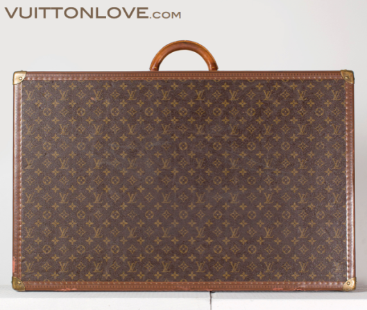 Vintage Louis Vuitton Alzer 80 Resvaska Trunk Koffert Monogram Canvas Vuitton Love